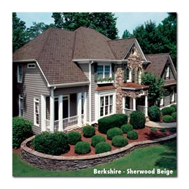 Owens Corning house with Berkshire Sherwood beige